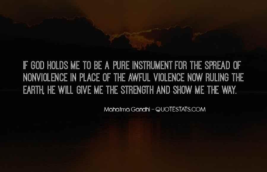 Mahatma Gandhi Nonviolence Quotes #336677