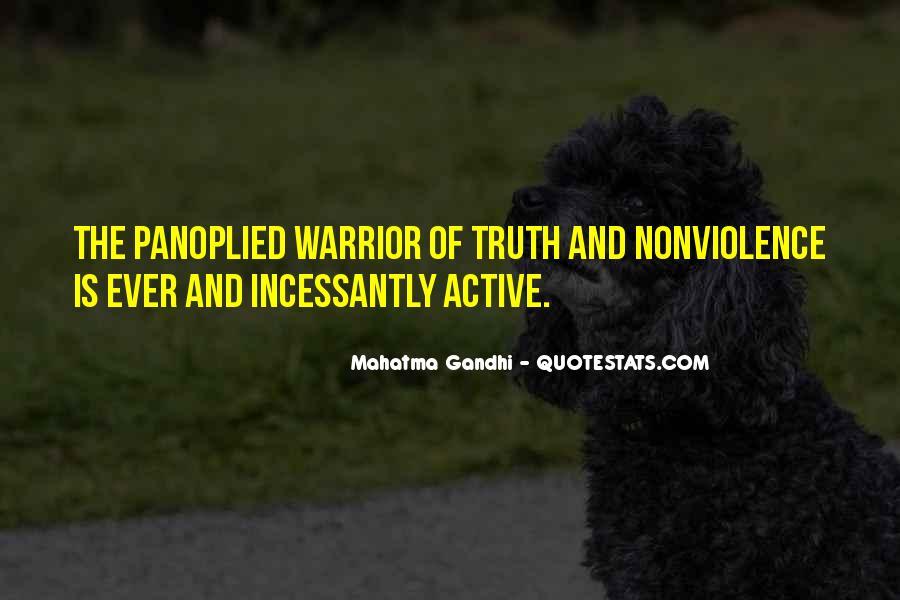 Mahatma Gandhi Nonviolence Quotes #339924
