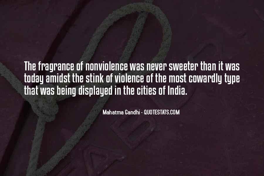 Mahatma Gandhi Nonviolence Quotes #366619