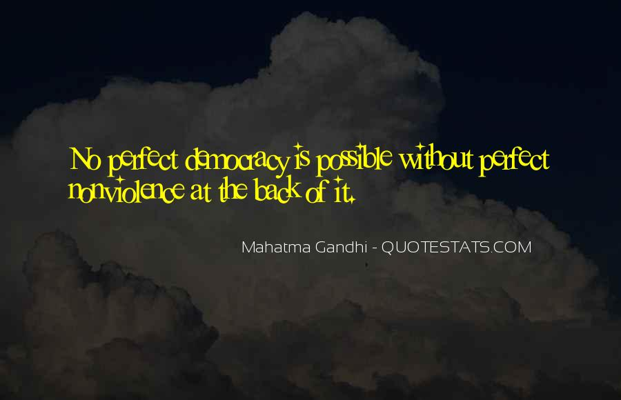 Mahatma Gandhi Nonviolence Quotes #371666