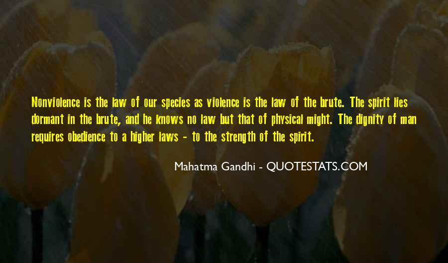 Mahatma Gandhi Nonviolence Quotes #379472