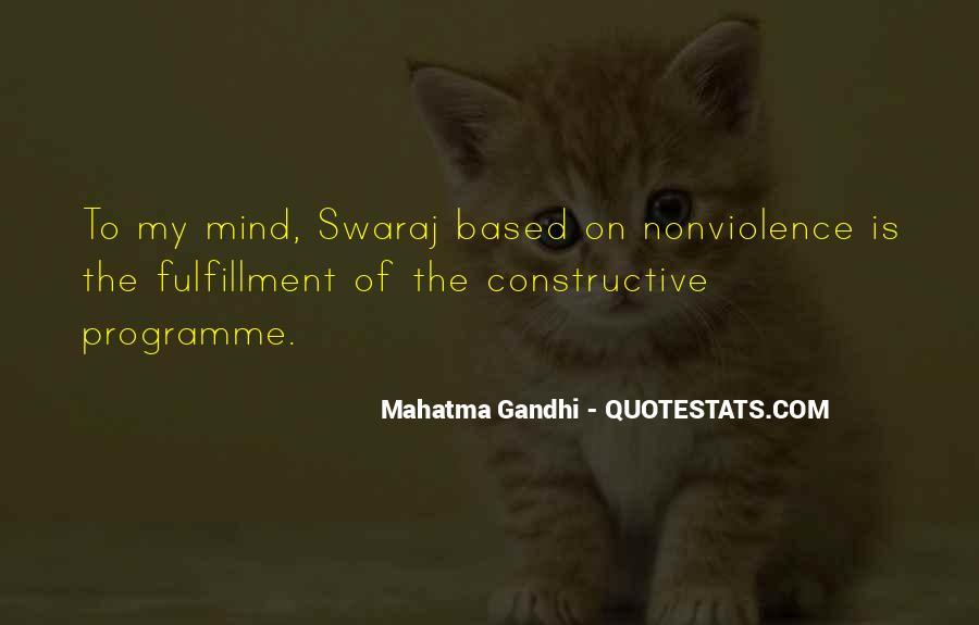 Mahatma Gandhi Nonviolence Quotes #391952