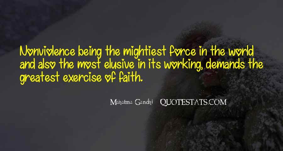 Mahatma Gandhi Nonviolence Quotes #398300