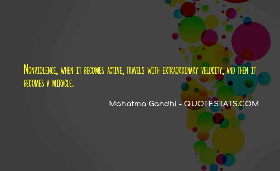 Mahatma Gandhi Nonviolence Quotes #407156