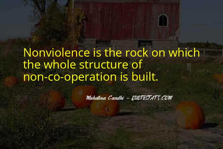 Mahatma Gandhi Nonviolence Quotes #418876