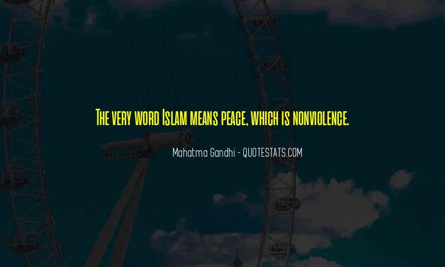 Mahatma Gandhi Nonviolence Quotes #428050