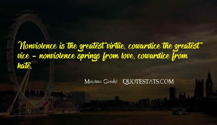 Mahatma Gandhi Nonviolence Quotes #434068