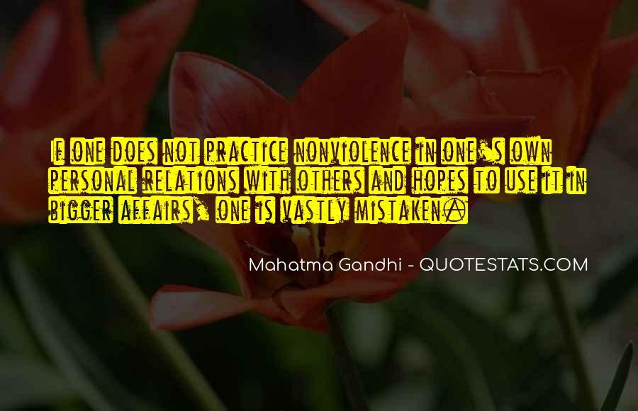 Mahatma Gandhi Nonviolence Quotes #437988