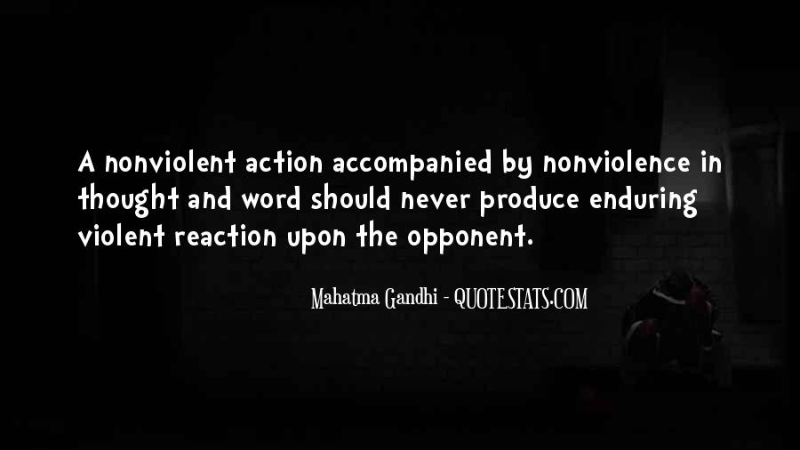Mahatma Gandhi Nonviolence Quotes #442603