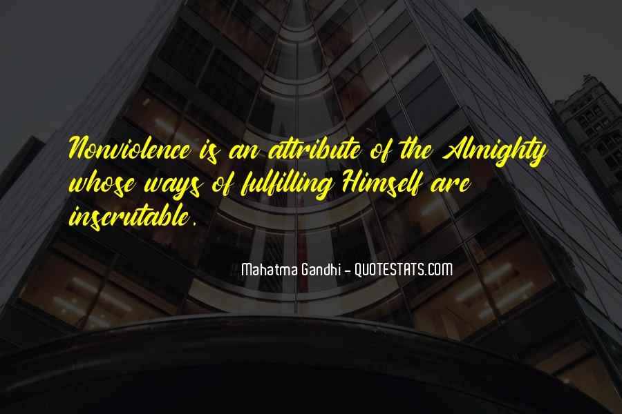 Mahatma Gandhi Nonviolence Quotes #466374