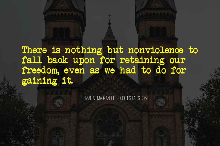 Mahatma Gandhi Nonviolence Quotes #467264