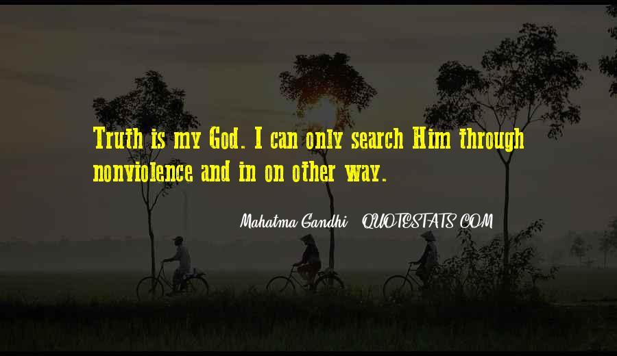 Mahatma Gandhi Nonviolence Quotes #496430