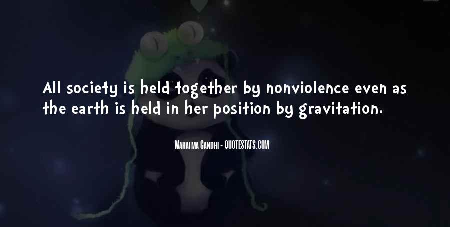 Mahatma Gandhi Nonviolence Quotes #526419
