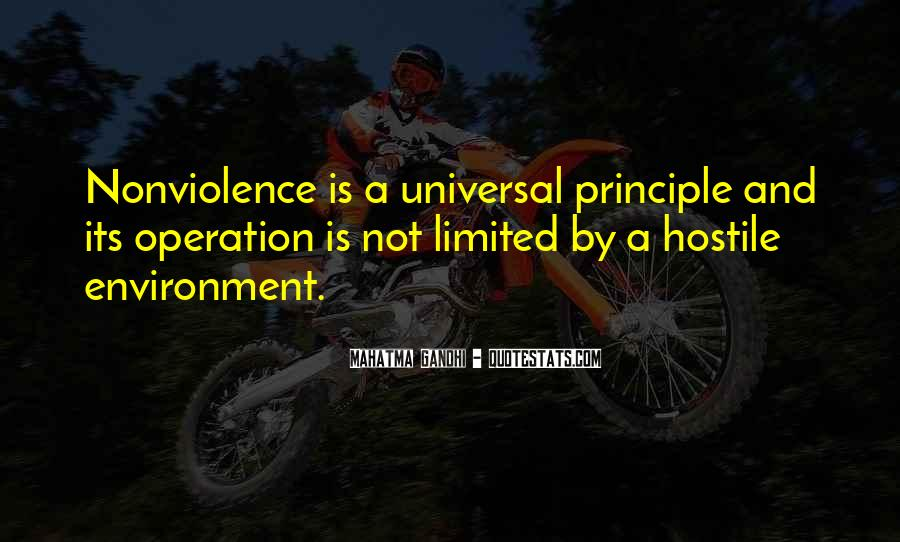 Mahatma Gandhi Nonviolence Quotes #535816