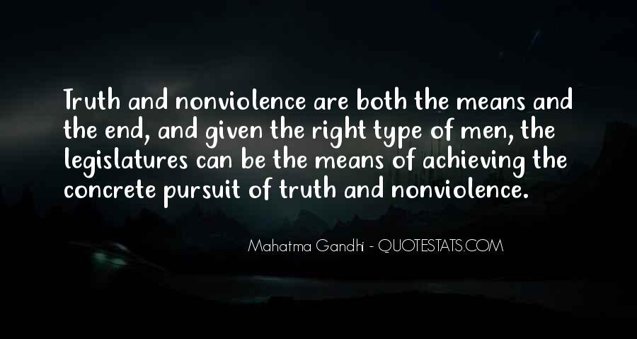 Mahatma Gandhi Nonviolence Quotes #536481