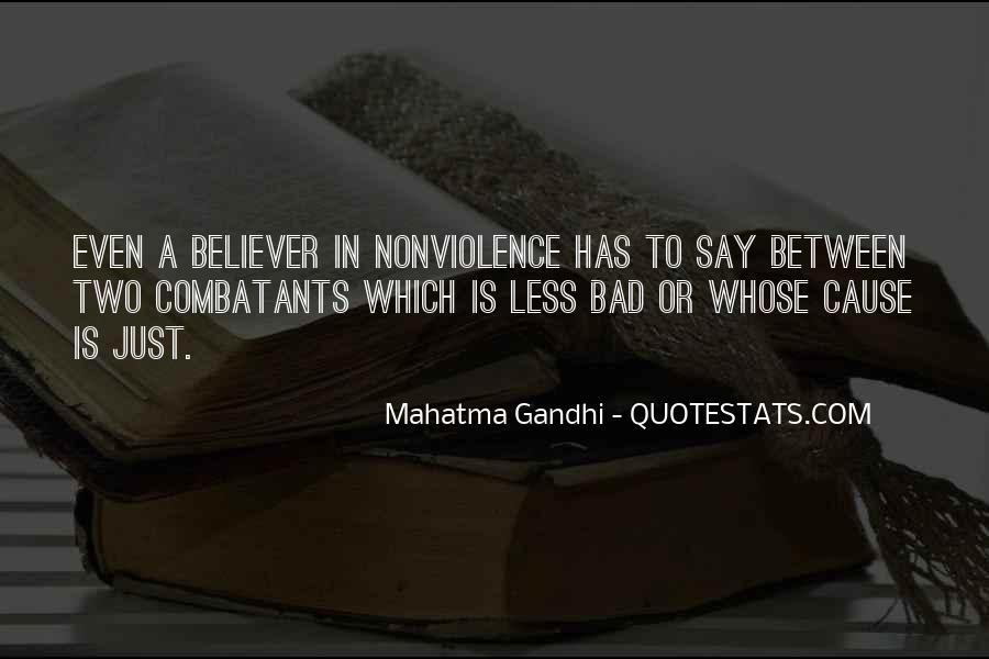 Mahatma Gandhi Nonviolence Quotes #579141