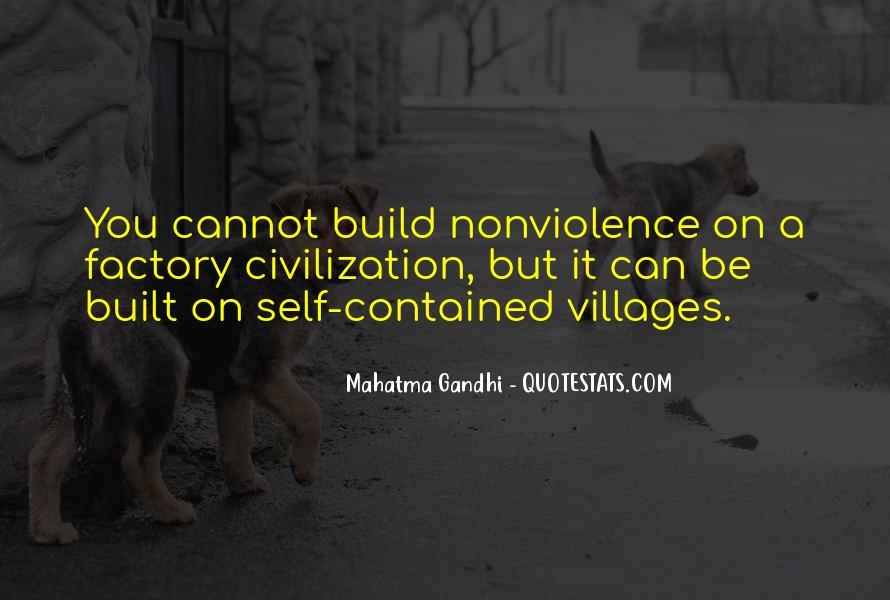 Mahatma Gandhi Nonviolence Quotes #596694