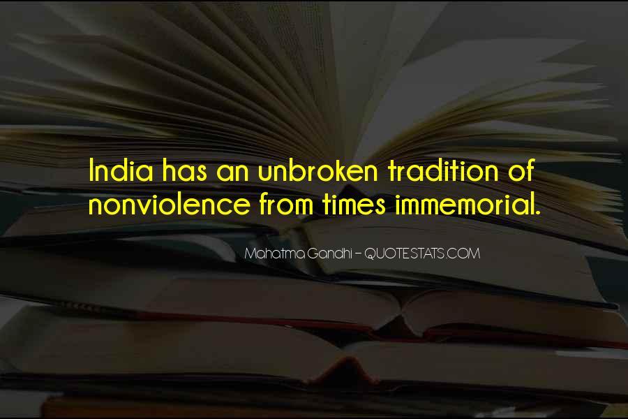 Mahatma Gandhi Nonviolence Quotes #598100