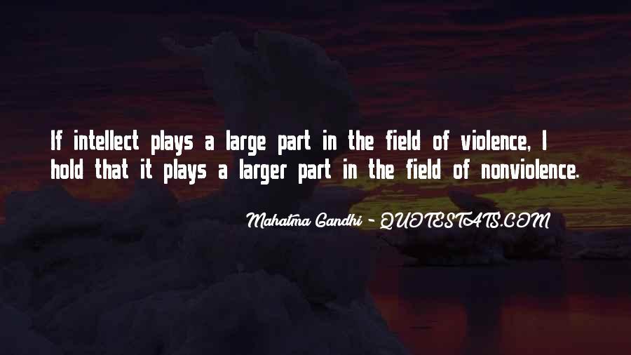 Mahatma Gandhi Nonviolence Quotes #621421