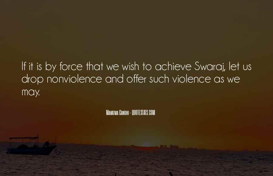 Mahatma Gandhi Nonviolence Quotes #632339
