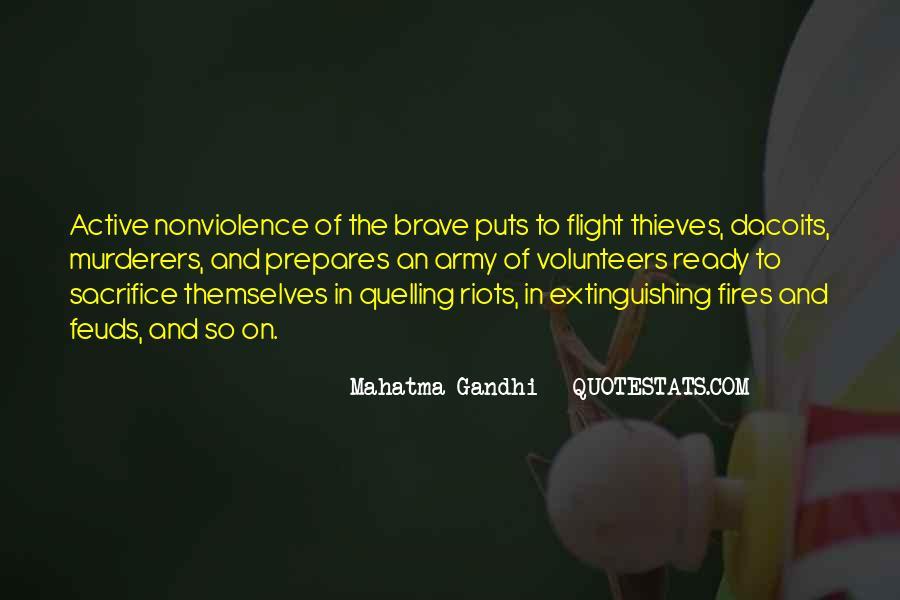 Mahatma Gandhi Nonviolence Quotes #637034