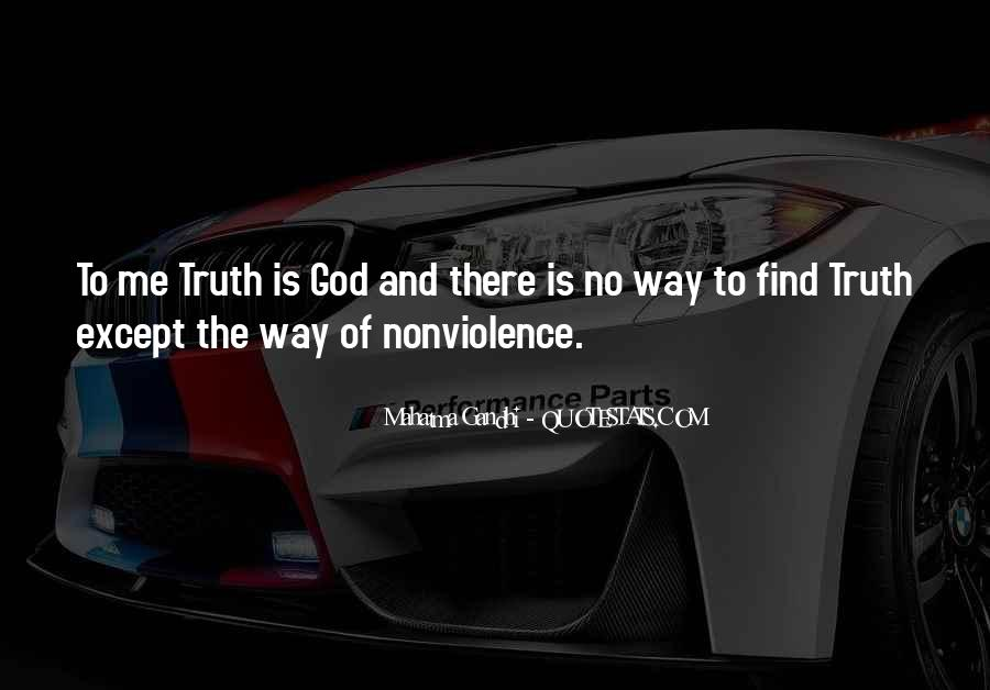 Mahatma Gandhi Nonviolence Quotes #644307