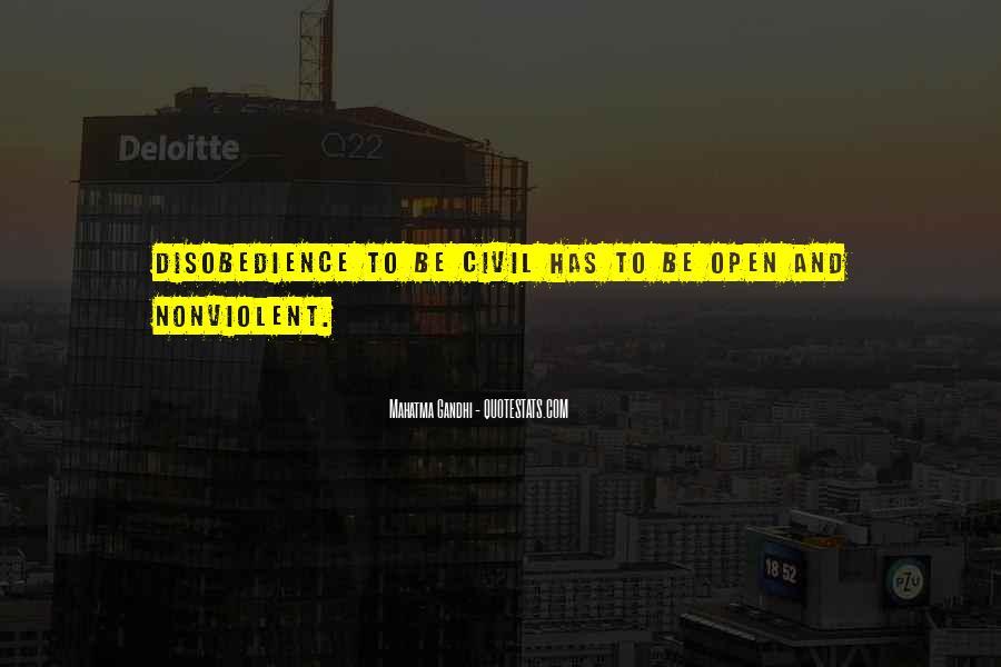Mahatma Gandhi Nonviolence Quotes #649850
