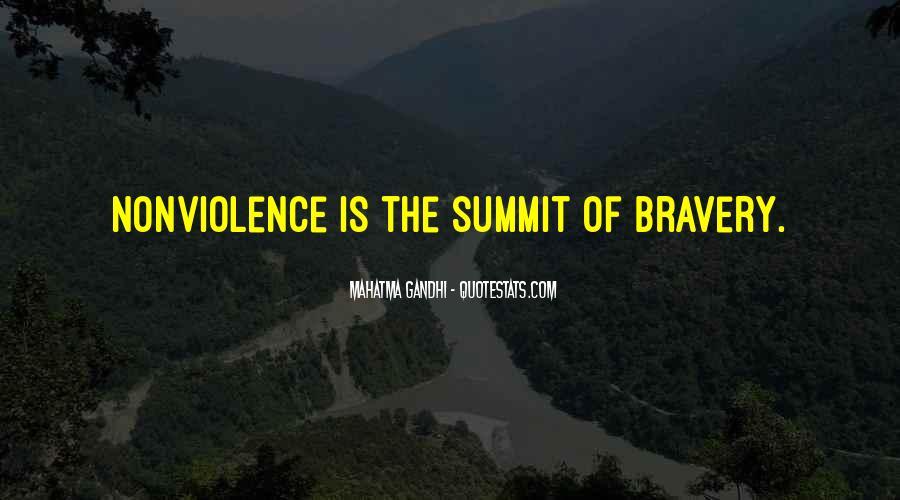 Mahatma Gandhi Nonviolence Quotes #651032