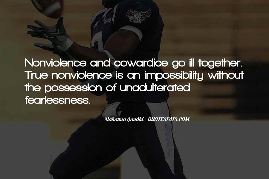 Mahatma Gandhi Nonviolence Quotes #658933