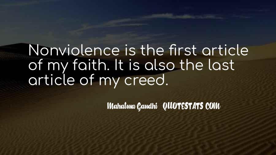Mahatma Gandhi Nonviolence Quotes #666935