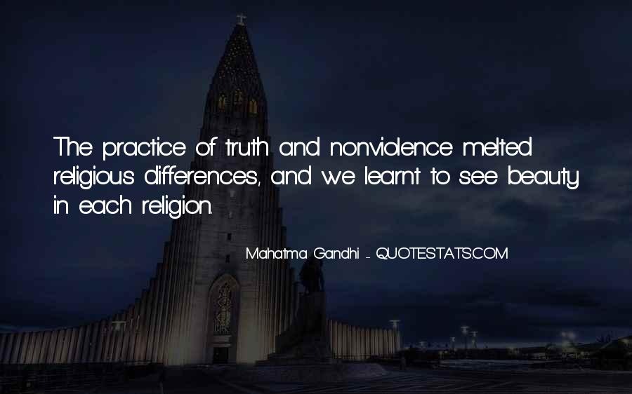 Mahatma Gandhi Nonviolence Quotes #67095
