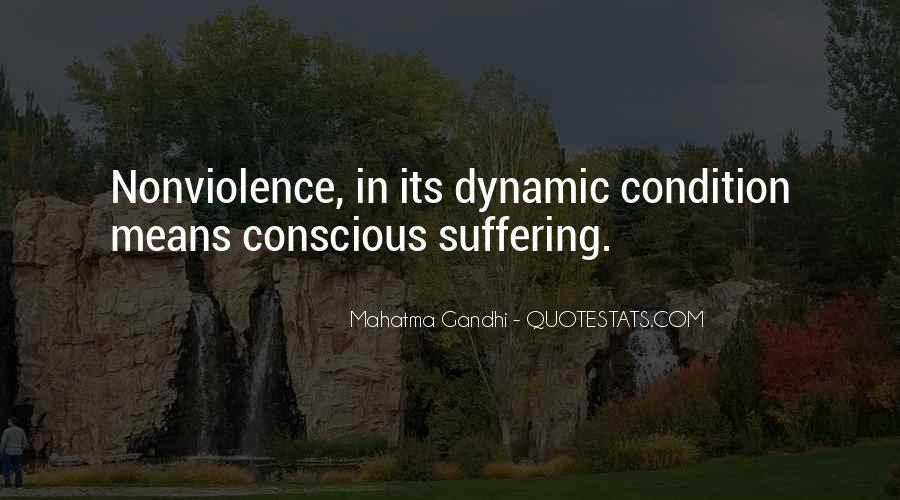 Mahatma Gandhi Nonviolence Quotes #706025