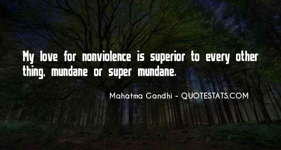 Mahatma Gandhi Nonviolence Quotes #762445