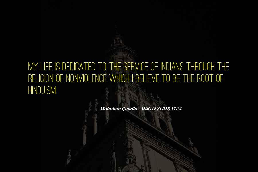 Mahatma Gandhi Nonviolence Quotes #784930