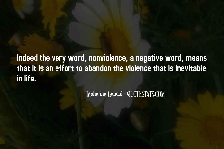 Mahatma Gandhi Nonviolence Quotes #796233
