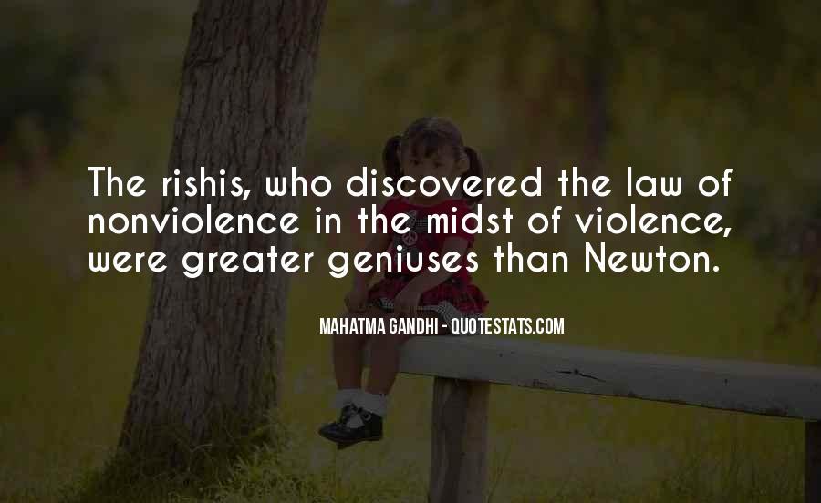 Mahatma Gandhi Nonviolence Quotes #81425