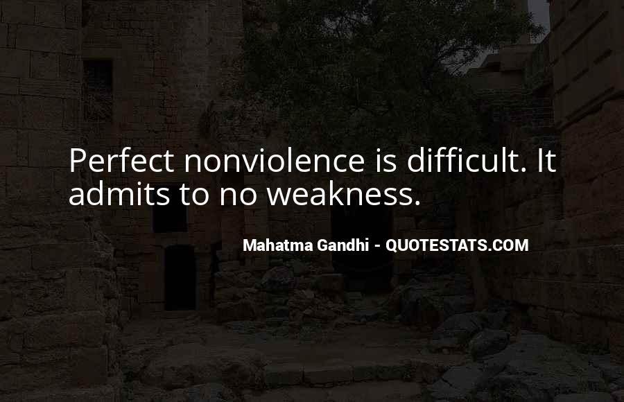 Mahatma Gandhi Nonviolence Quotes #848549