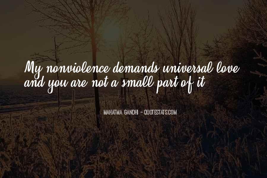 Mahatma Gandhi Nonviolence Quotes #89099
