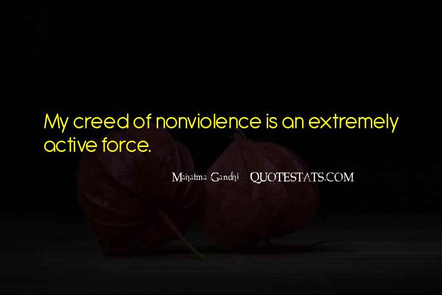 Mahatma Gandhi Nonviolence Quotes #896382