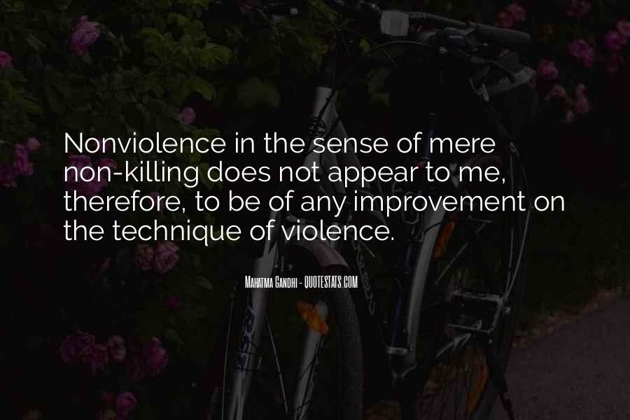 Mahatma Gandhi Nonviolence Quotes #898503