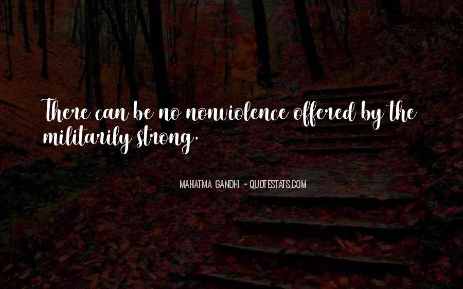 Mahatma Gandhi Nonviolence Quotes #899423