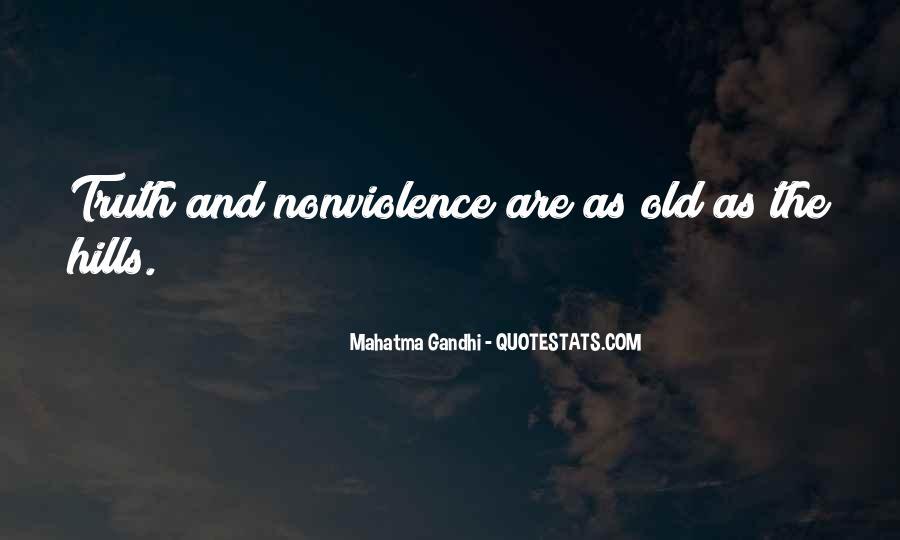 Mahatma Gandhi Nonviolence Quotes #907871