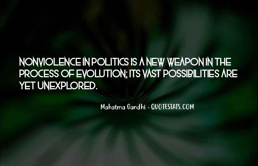 Mahatma Gandhi Nonviolence Quotes #925133