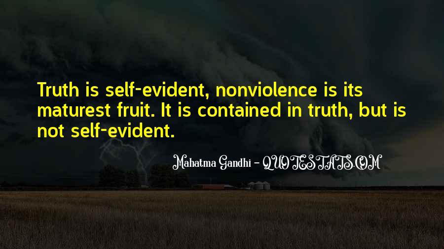 Mahatma Gandhi Nonviolence Quotes #928480