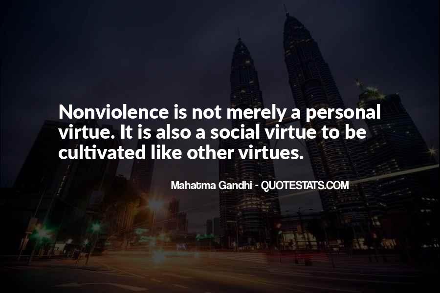 Mahatma Gandhi Nonviolence Quotes #937101