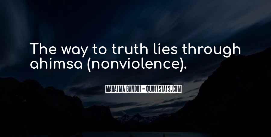 Mahatma Gandhi Nonviolence Quotes #945593