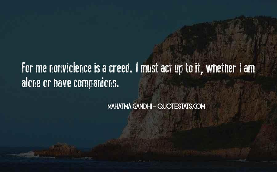 Mahatma Gandhi Nonviolence Quotes #948179