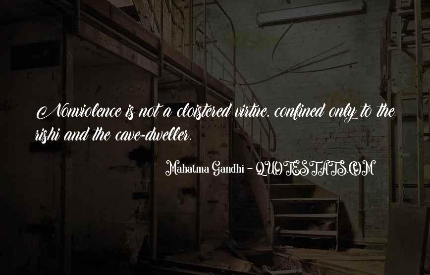 Mahatma Gandhi Nonviolence Quotes #957751