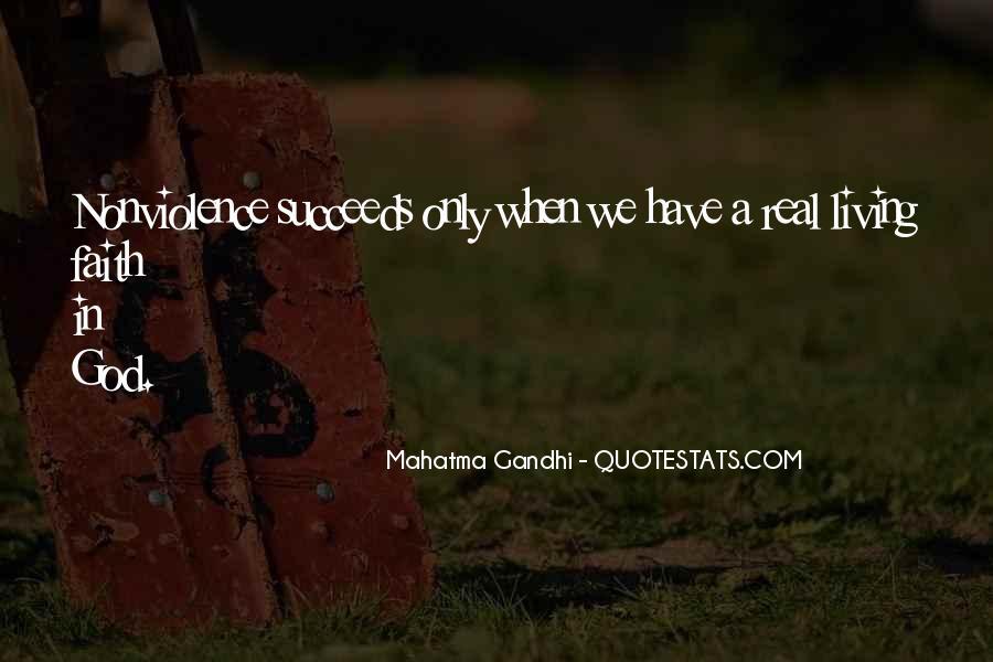 Mahatma Gandhi Nonviolence Quotes #975103