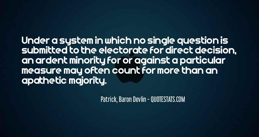 Majority Decision Quotes #1093641